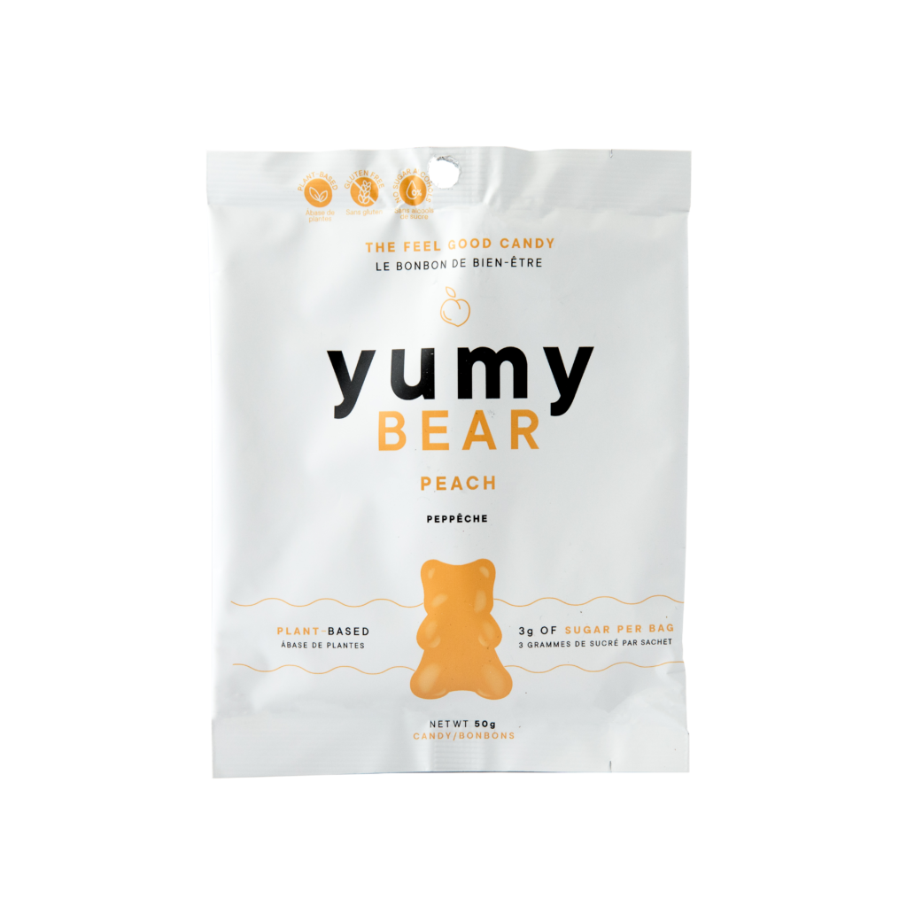 Yumy Bear Low Sugar Candy Peach Flavour