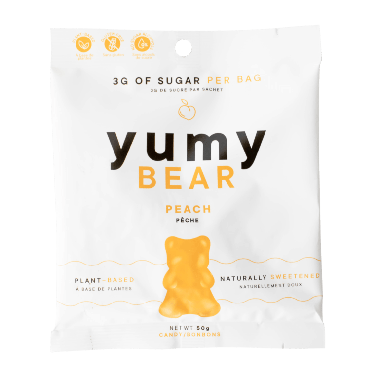 Pack of Yumy Bear Peach Flavour