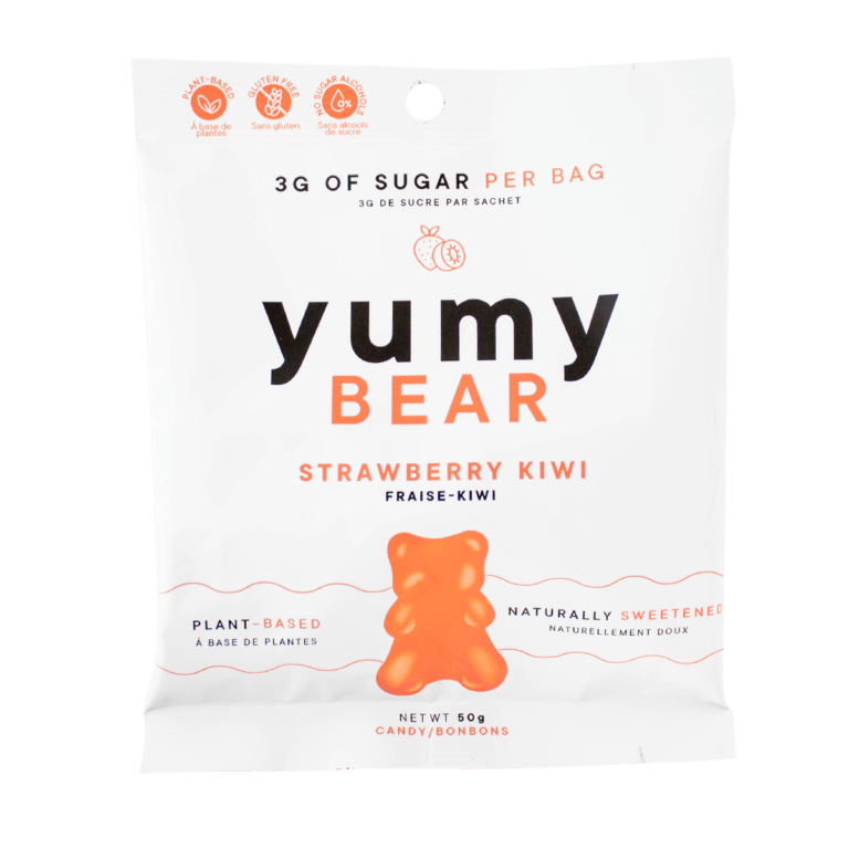 Pack of Yumy Bear Strawberry Kiwi Flavour